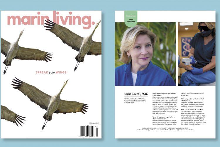 """Marin Living: """"Visionaries"""" Profile"""